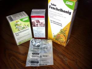 Medizin gegen Husten beim Hund